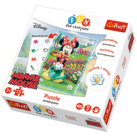 Puzzle FFE Minnie 15el. Minnie