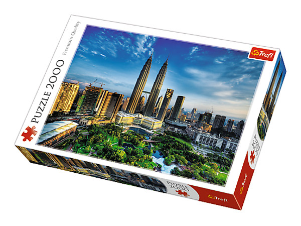 PUZZLE 2000 PETRONAS TWIN TOWERS