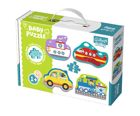 Puzzle Baby Classic pojazdy transport