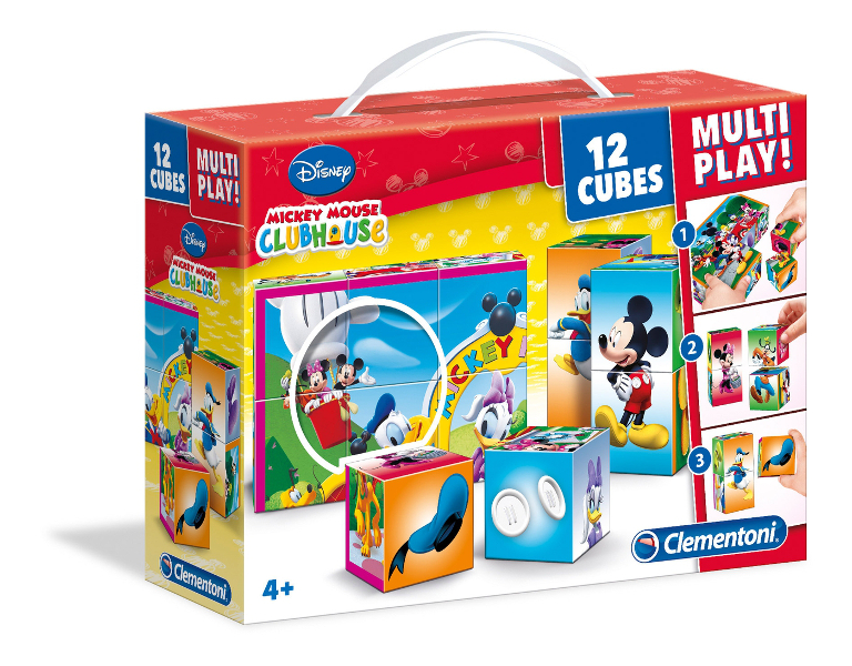 Cubi 12 multi play Mickey