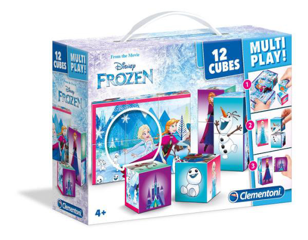Cubi 12 multi play Frozen