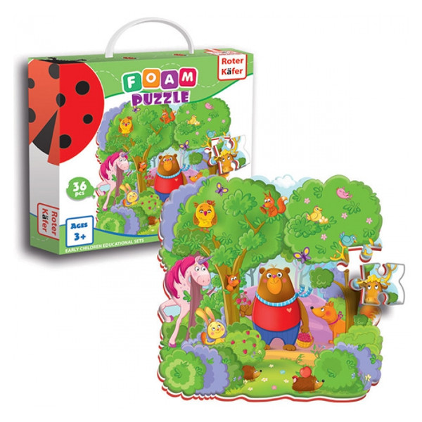 Foam puzzles forest