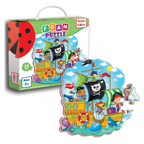 Foam puzzles Pirates
