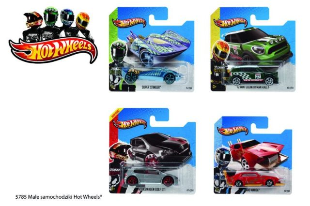 Auto 5cm Hot Wheels