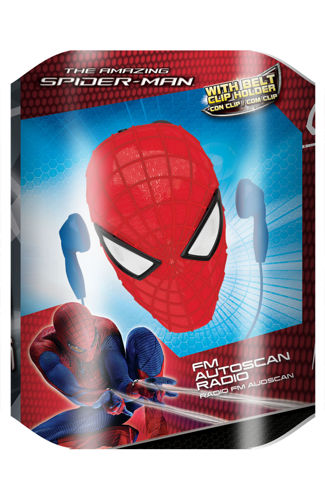RADIO SPIDER-MAN 020744