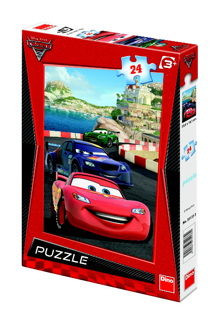 Puzzle Dino 24 Cars