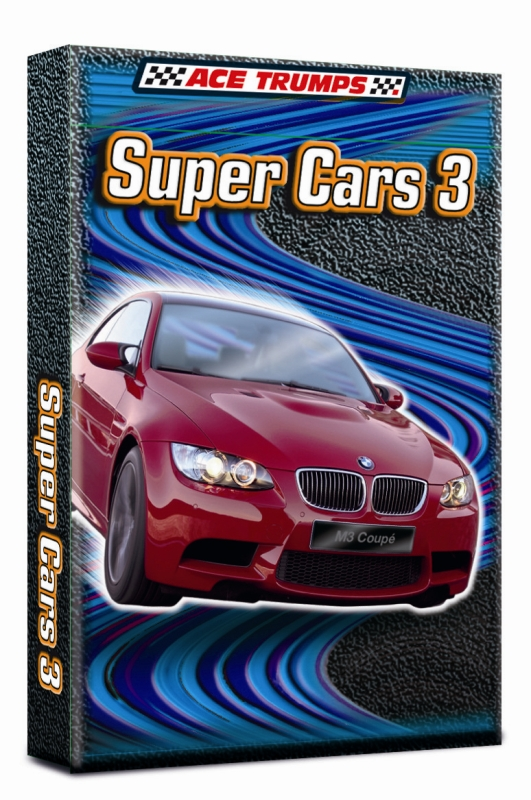 Karty Trumps PL super car