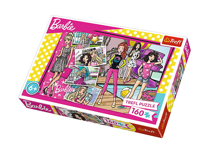 Puzzle 160 Modna Barbie