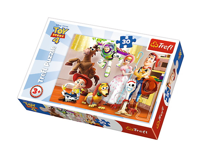 Puzzle 30el Gotowi do zabawy Toy Story