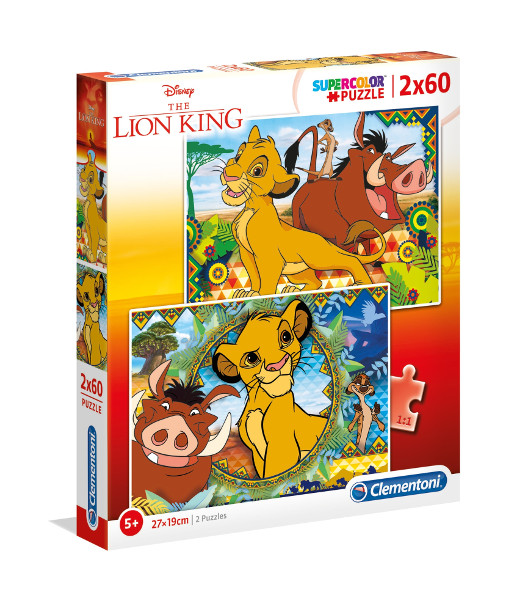 Puzzle 2X60el Lion King 2019