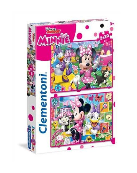 Puzzle 2x20 Minnie hapy Helpers