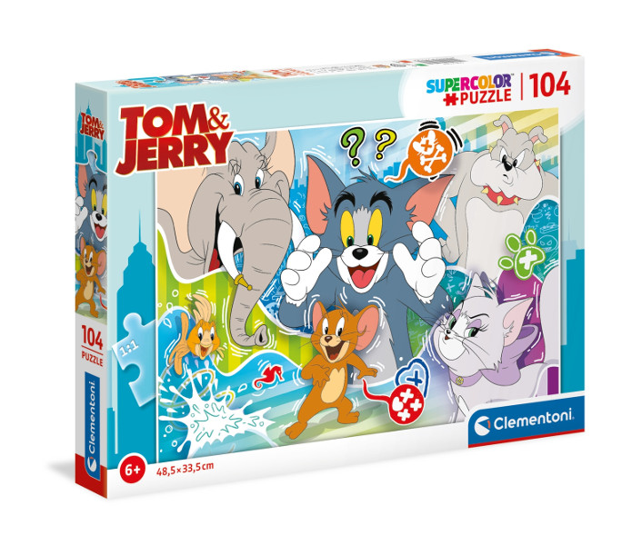 Puzzle 104el.Tom and Jerry 3