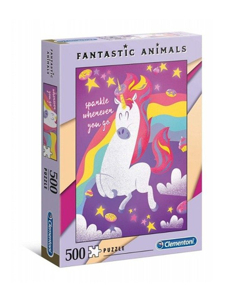 Puzzle 500 el Fantastic animals