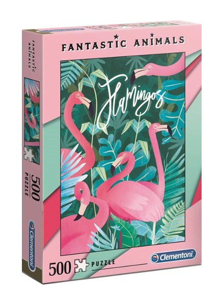 Puzzle 500el.Fantastic animals 2