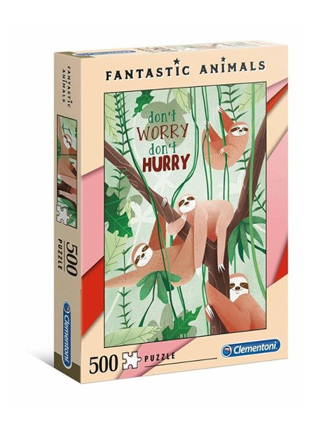 Puzzle 500el Fantastic animals 3