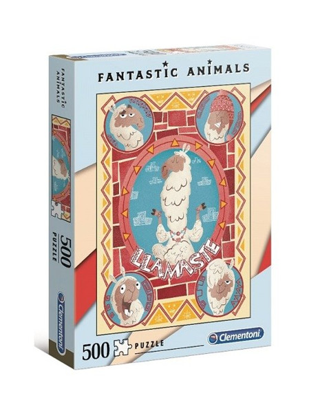 Puzzle 500el Fantastic animal 4