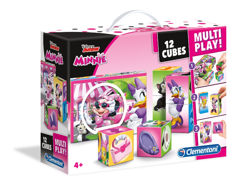 Cubi 12 multiplay Minnie happy