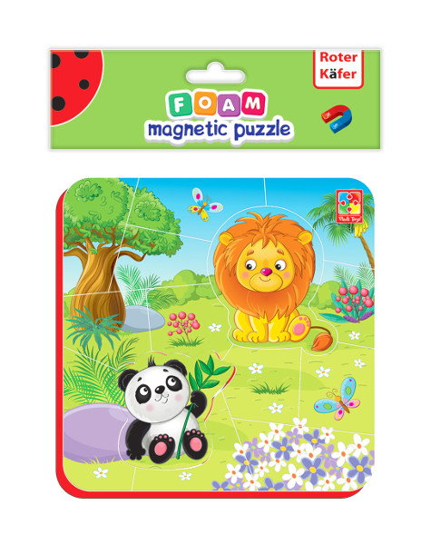 Foam magnetic puzzle Zo