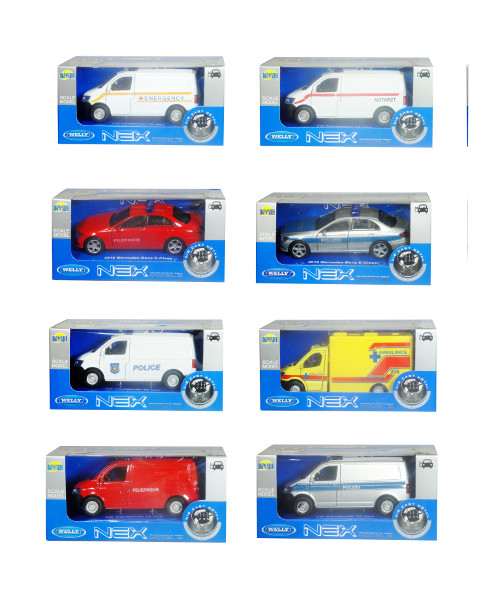 Auto welly1:34 nex models special