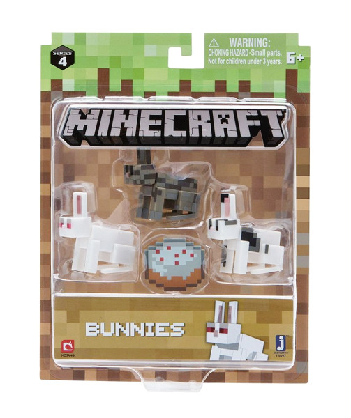 Minecraft Chase Bunnies