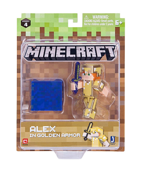 Minecraft Alex Gold armour