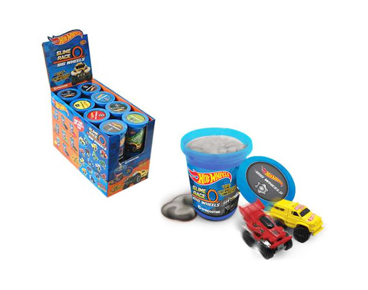 Slime z autkiem Hot Wheels